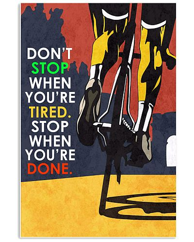 Cycle - Don't Stop - Poster