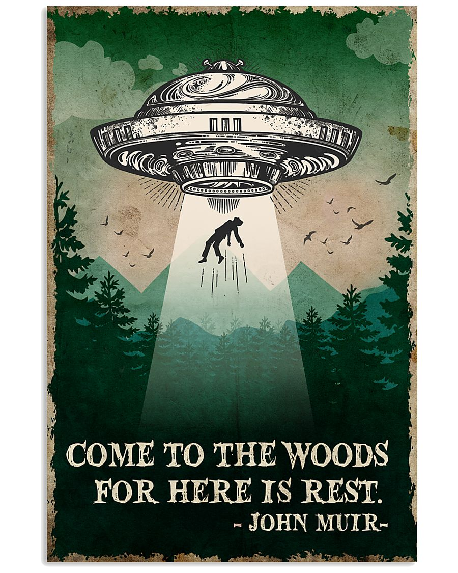 Camping Come To The Woods Poster 11x17 Poster