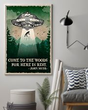Camping Come To The Woods Poster 11x17 Poster lifestyle-poster-1