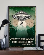 Camping Come To The Woods Poster 11x17 Poster lifestyle-poster-2