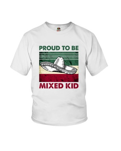 Root American Proud To Be Mixed Kid