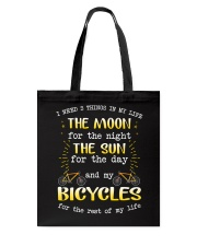 Cycle - I Need 3 Things In My Life Tote Bag thumbnail