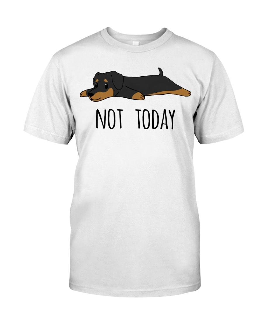 Dachshund - Not Today Classic T-Shirt