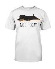 Dachshund - Not Today Classic T-Shirt front