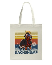 Funny Independence Day Dachshump Tote Bag thumbnail