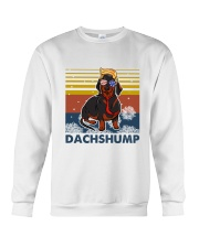 Funny Independence Day Dachshump Crewneck Sweatshirt thumbnail