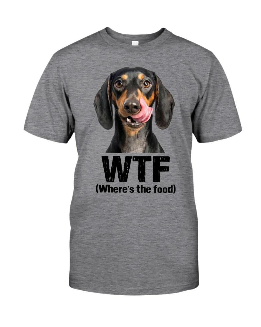 Dachshund - WTF Classic T-Shirt