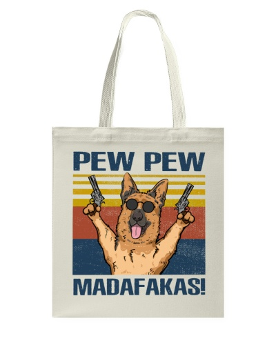 German Shepherd Pew Pew Madafakas