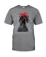 Dachshund -Beauty Classic T-Shirt front