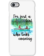 Canoeing - I'm Just A Girl Who Loves Canoeing Phone Case thumbnail