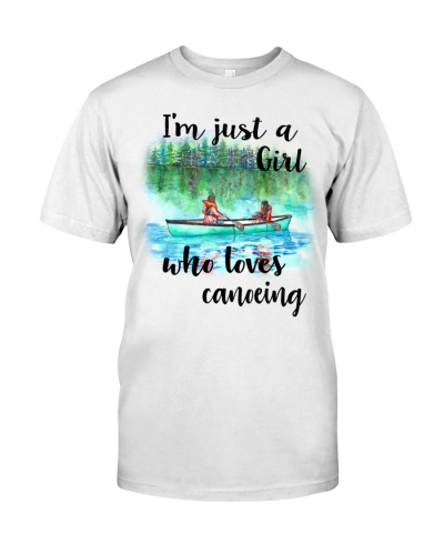 Canoeing - I'm Just A Girl Who Loves Canoeing