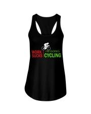 Cycle - Work Sucks Ladies Flowy Tank thumbnail