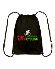 Cycle - Work Sucks Drawstring Bag thumbnail