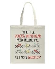 Cycle - More Bicycles Tote Bag thumbnail