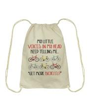 Cycle - More Bicycles Drawstring Bag thumbnail