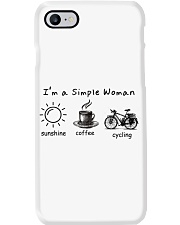Cycle - I Am A Simple Woman Phone Case thumbnail