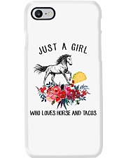 Horse - Just A Girl Who Loves Horse And Tacos Phone Case thumbnail