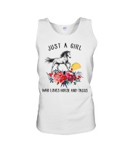 Horse - Just A Girl Who Loves Horse And Tacos Unisex Tank thumbnail