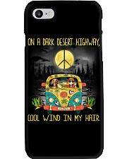 Dachshund - On A Dark Desert Highway Phone Case thumbnail
