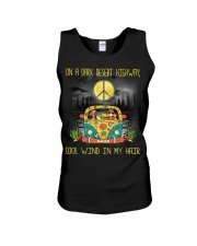 Dachshund - On A Dark Desert Highway Unisex Tank thumbnail