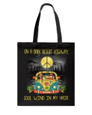 Dachshund - On A Dark Desert Highway Tote Bag thumbnail