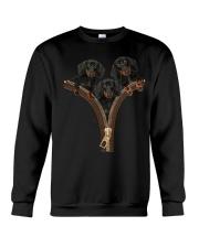Dachshund Zipper Crewneck Sweatshirt front