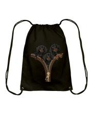 Dachshund Zipper Drawstring Bag thumbnail