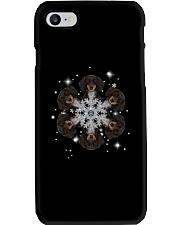 Dachshund  Snow Head Phone Case thumbnail