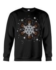 Dachshund  Snow Head Crewneck Sweatshirt thumbnail