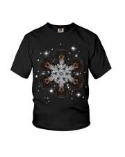 Dachshund  Snow Head Youth T-Shirt thumbnail