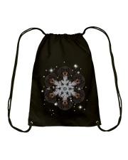 Dachshund  Snow Head Drawstring Bag thumbnail
