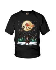 Dachshund Christmas  Youth T-Shirt thumbnail