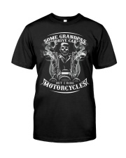 Motorcycle grandpa Classic T-Shirt front