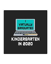 I Virtually Graduated Kindergarten IN 2020 Square Coaster thumbnail