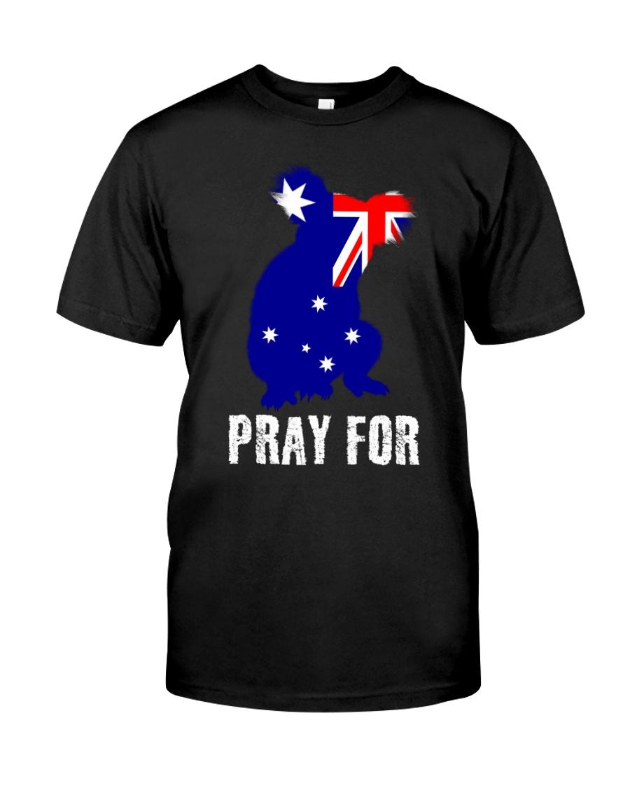 Pray For Australia Save the Koalas Classic T-Shirt