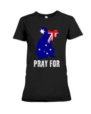 Pray For Australia Save the Koalas Premium Fit Ladies Tee thumbnail