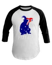 Pray For Australia Save the Koalas Baseball Tee thumbnail
