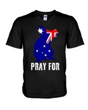 Pray For Australia Save the Koalas V-Neck T-Shirt thumbnail