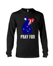 Pray For Australia Save the Koalas Long Sleeve Tee thumbnail
