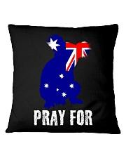 Pray For Australia Save the Koalas Square Pillowcase thumbnail