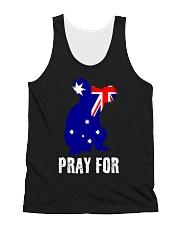 Pray For Australia Save the Koalas All-over Unisex Tank thumbnail