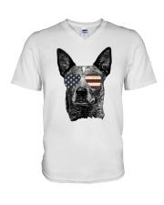 Australian Cattle Dog Gift  V-Neck T-Shirt thumbnail