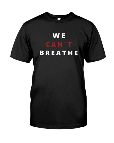 Black Lives Matter Tee Freedom We Can't Breathe E