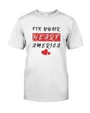 fix your heart america tshirt fix your heart ameri Premium Fit Mens Tee thumbnail