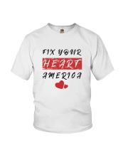 fix your heart america tshirt fix your heart ameri Youth T-Shirt thumbnail