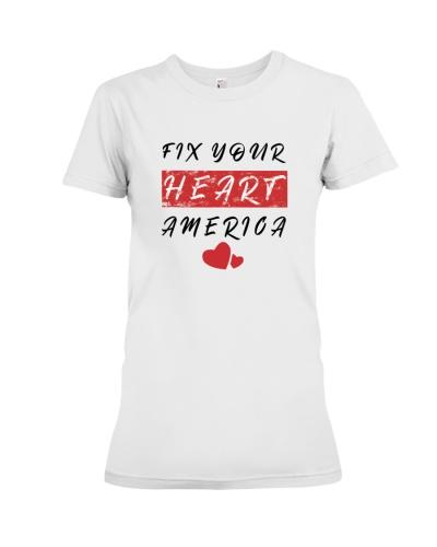fix your heart america tshirt fix your heart ameri