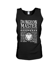 Dungeon Master The Weaver of Lore and Fat Unisex Tank thumbnail
