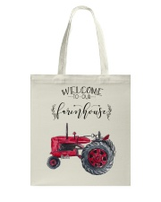 Welcome To Our Farmhouse TT99 Tote Bag thumbnail