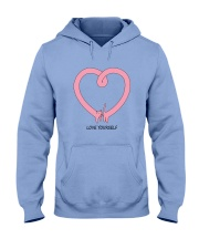 Love yourself HV9 Hooded Sweatshirt thumbnail