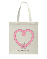 Love yourself HV9 Tote Bag thumbnail